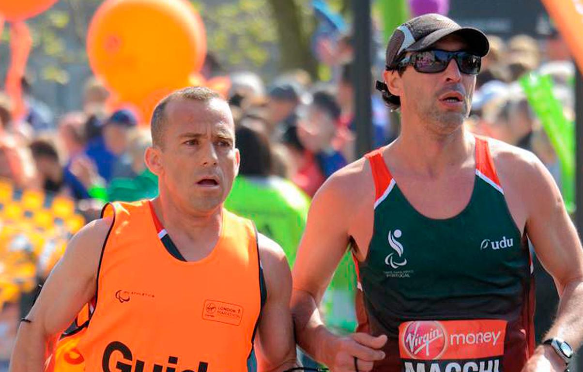 Maratona de Londres: Paralímpico português Gabriel Macchi conquista medalha de prata