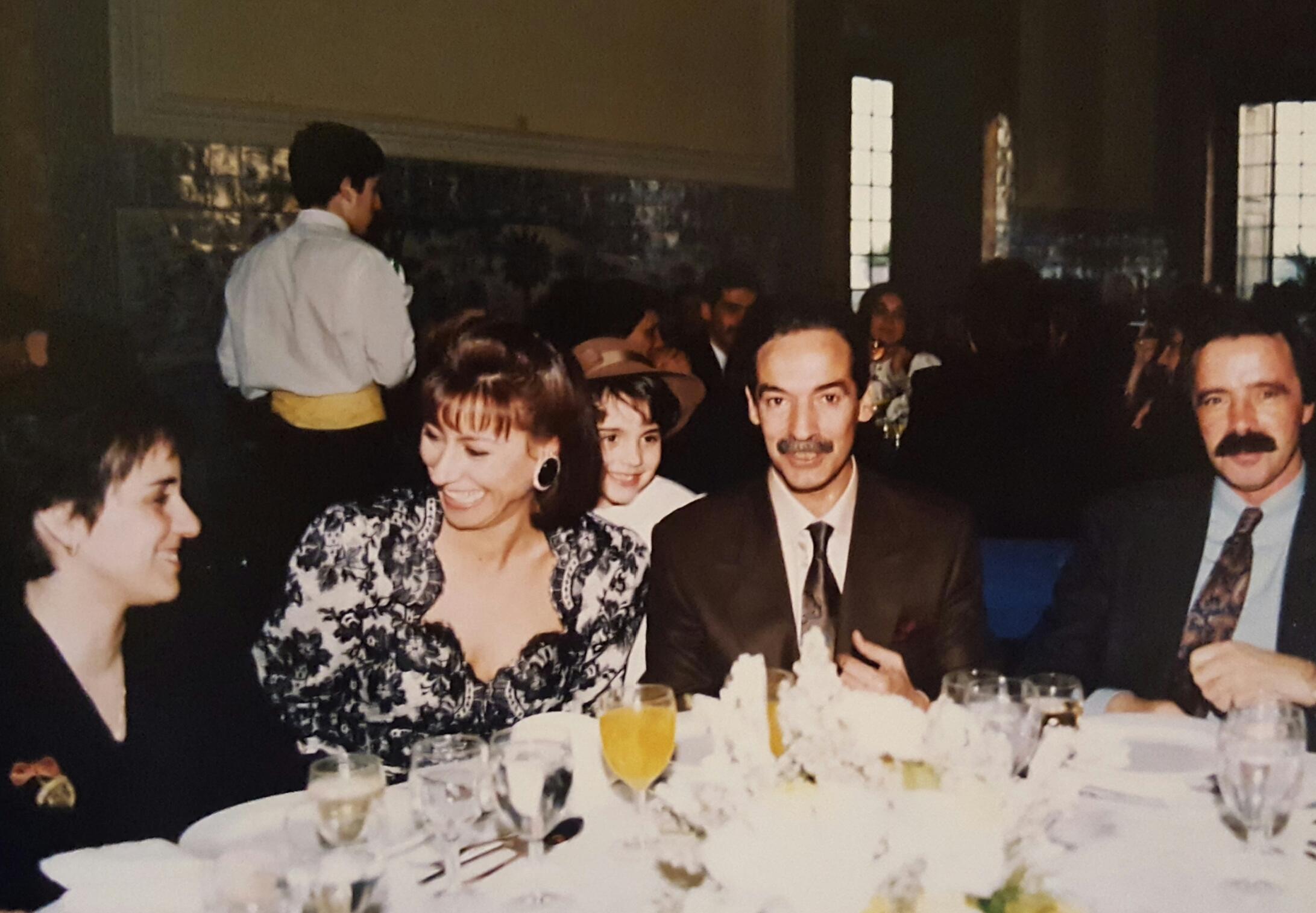Zulmira e Jesualdo Ferreira - 5 de janeiro de 1991, Palácio da Cruz Vermelha, Lisboa
