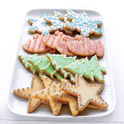 O Pai Natal... está a chegar! :) Biscoitos-de-açúcar-de-Natal