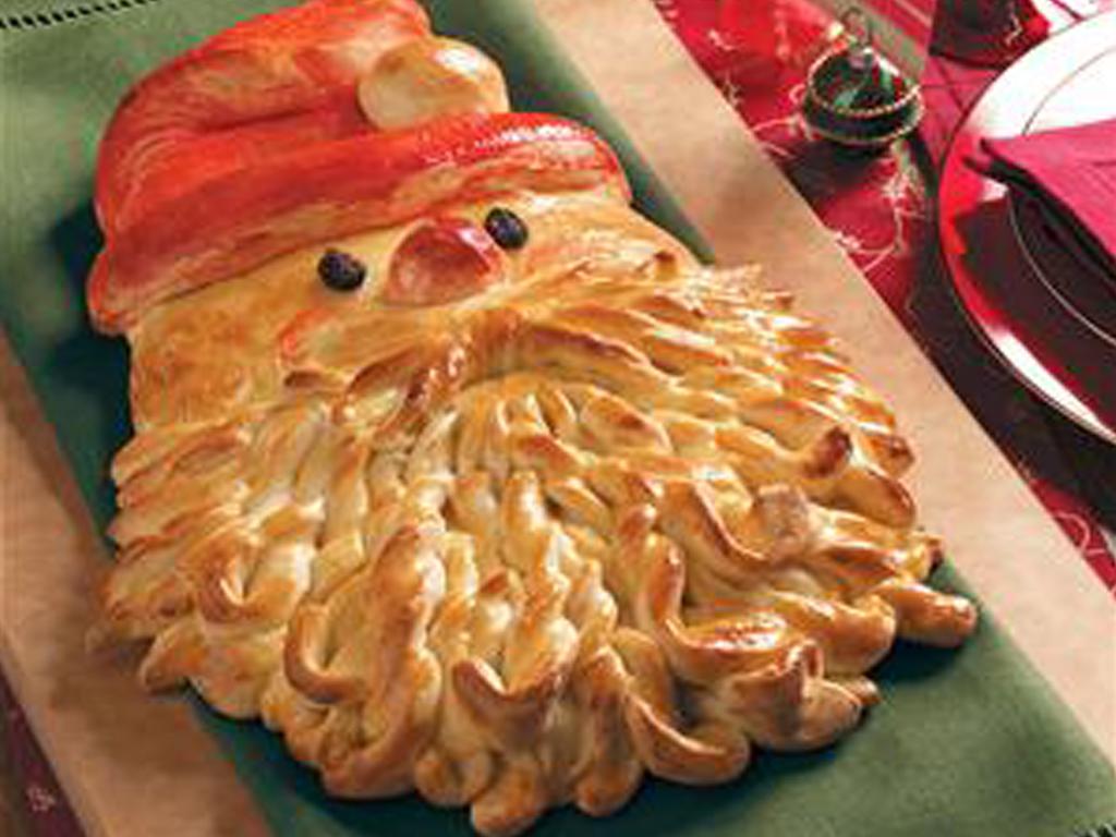 """O Pai Natal... está a chegar! :) Receita-de-""""Pão""""-Natal-Dourado_red"""