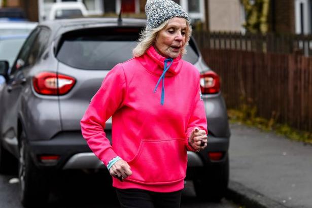 A bisavó maratonista