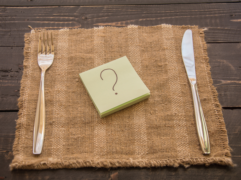4 mitos à mesa