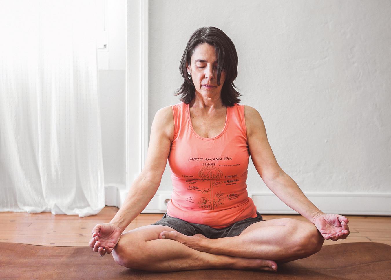 Nunca é tarde. O João começou a fazer exercício (Asthanga Yoga) aos 50. E aqui está ele! p136