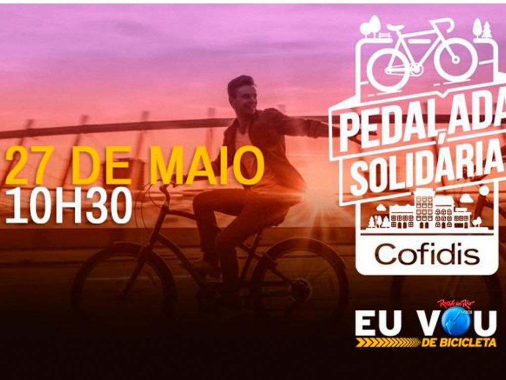 pedalada solidária