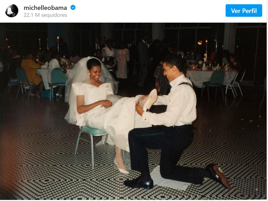 Casamento - Barack Obama e Michelle Obama