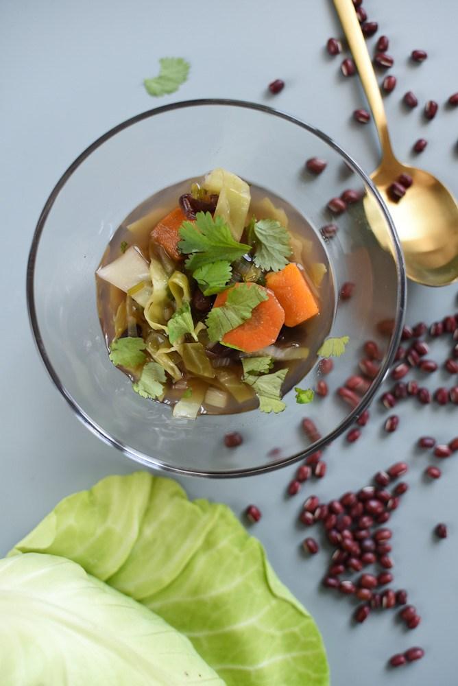 O que vai ser amanhã o jantar? Menu para a semana inteira, pela A Pitada do Pai sopa-feijao-azuki-002
