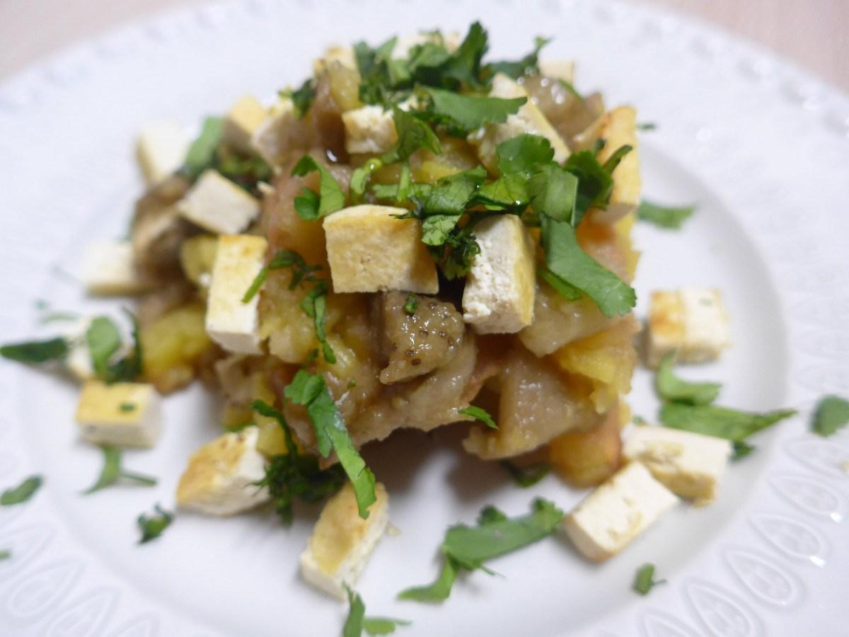 Bolo da Caneca - Menu semanal tofu