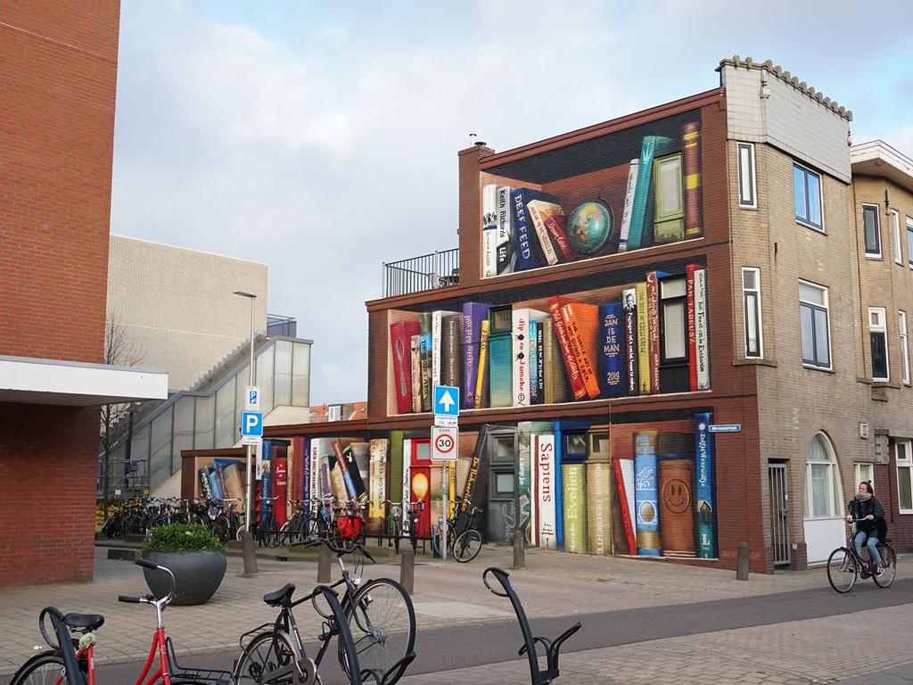 Edifício estante em Utreque, Alemanha