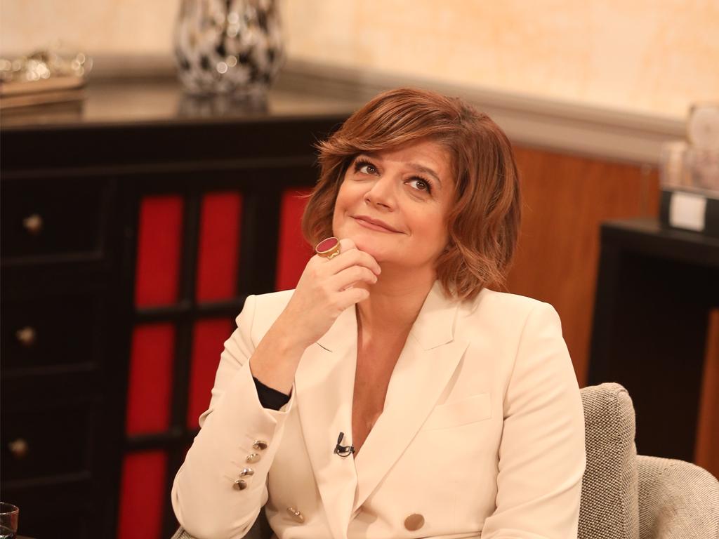 Júlia no O Programa da Cristina