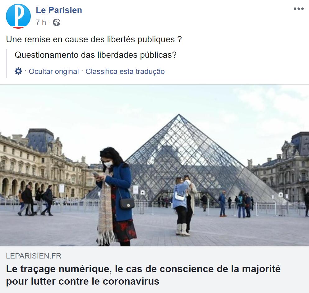 Paris - Le Parisien - COVID-19