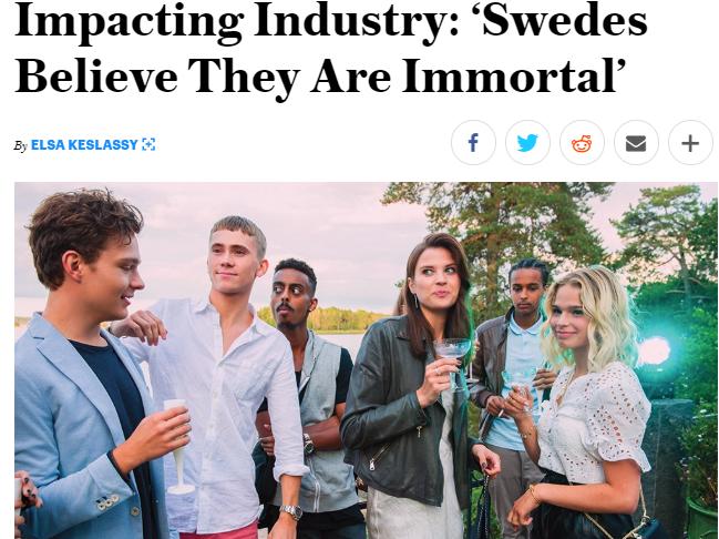 Suécia - Coronavírus