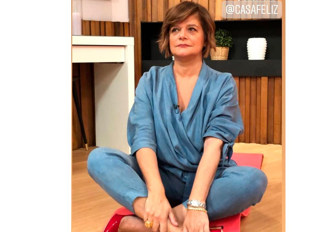 Júlia Pinheiro Aula de Yoga