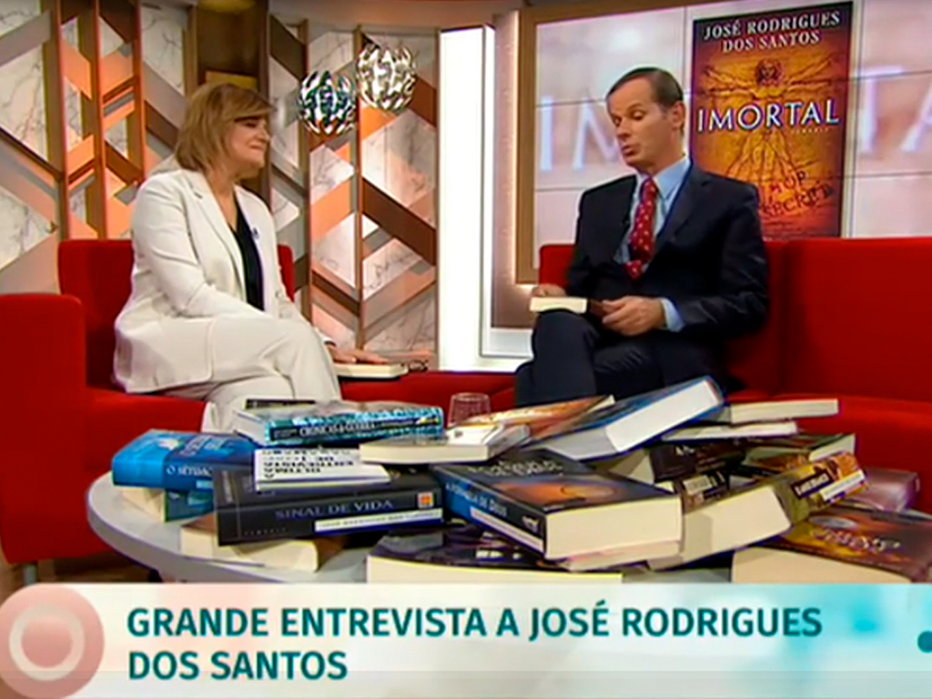 Júlia e José Rodrigues dos Santos, sobre o Imortal