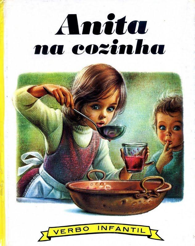 A pedido de uma seguidora - Os livros da minha infância Anita-da-Cozinha