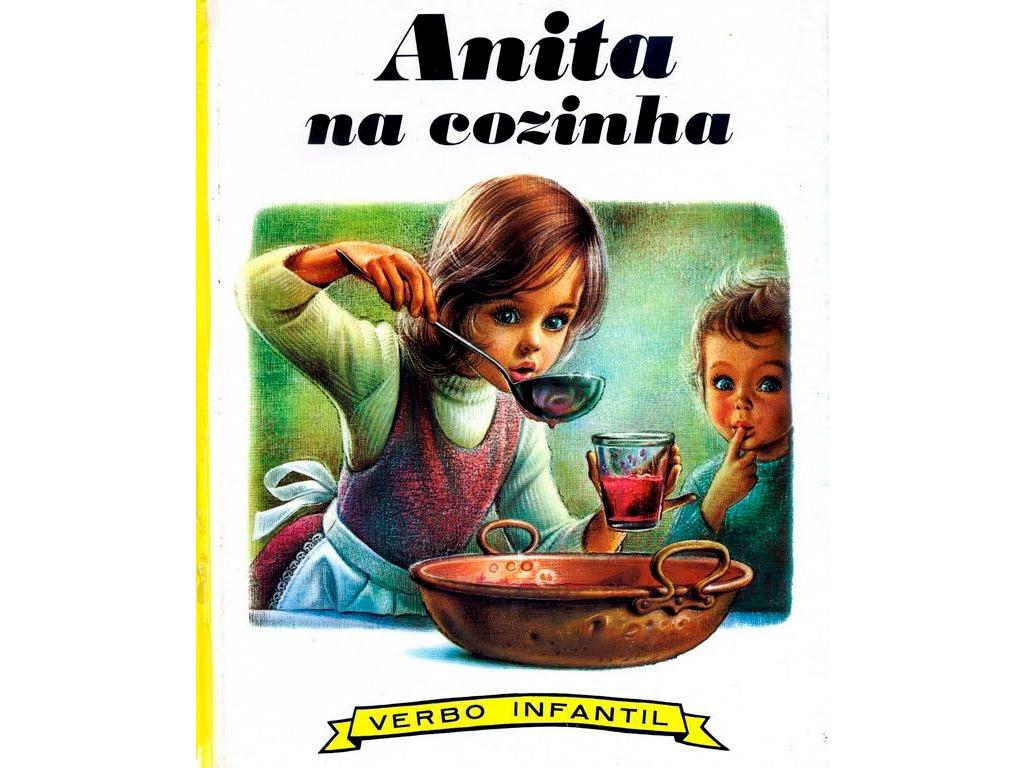 Anita na Cozinha - Os Livros da Minha infância