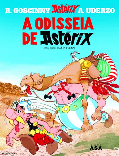 A pedido de uma seguidora - Os livros da minha infância Asterix-Odisseia