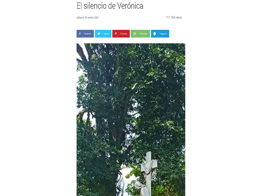 O silêncio de Verónica, La Nacion