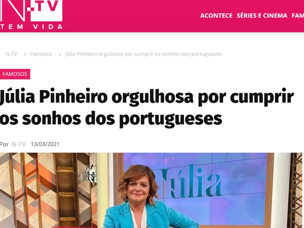NTV, Não há idade para o sonho