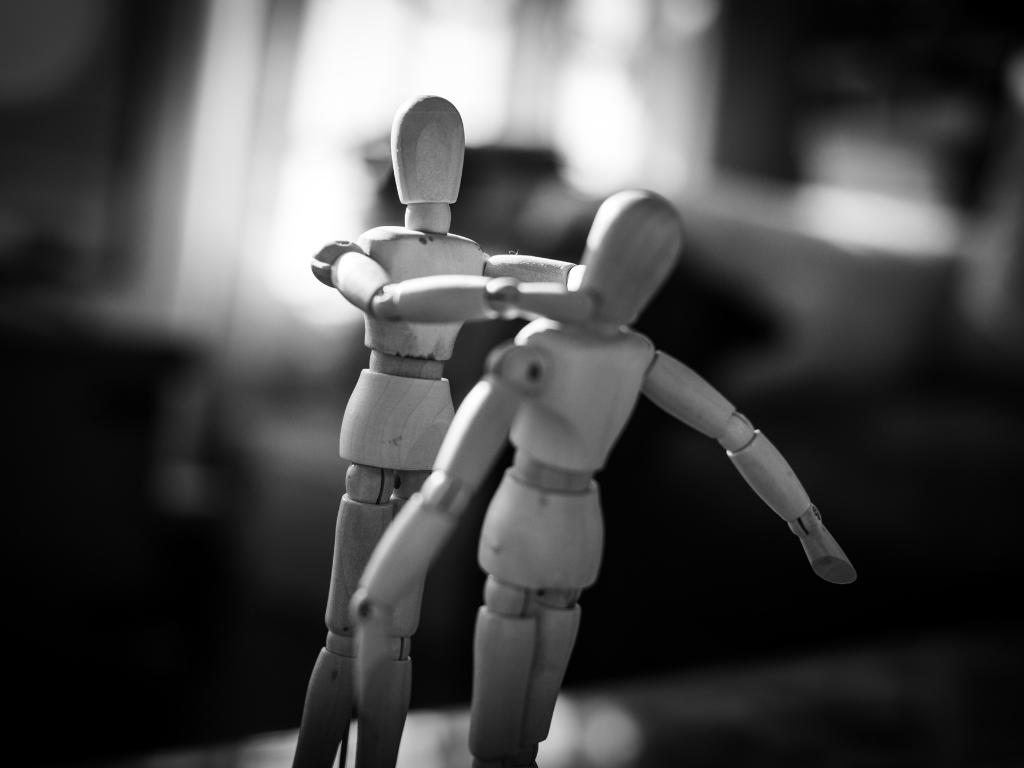 violência doméstica e a sensibilidade de um calhau