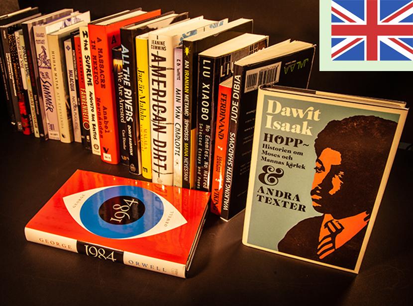 Livraria na Suécia - só entram livros censurados