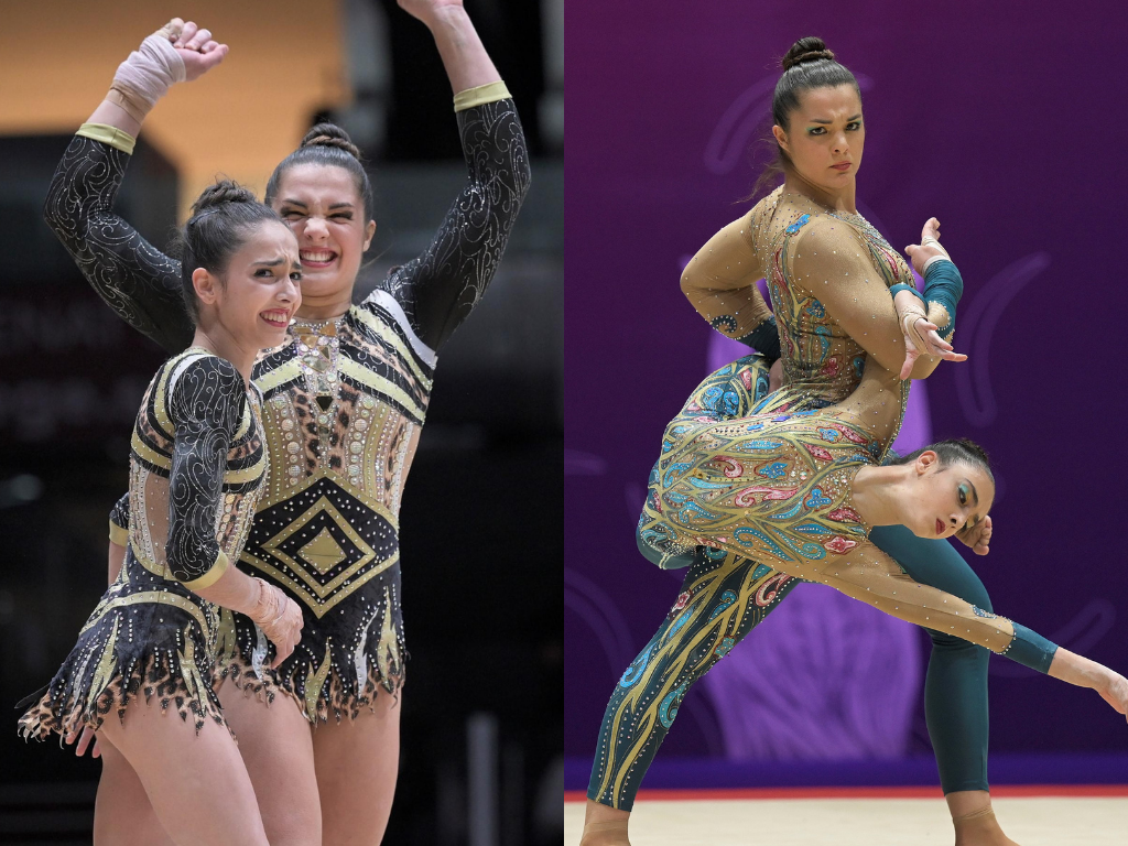Rita Ferreira e Ana Teixeira conquistam ouro no Mundial de ginástica acrobática